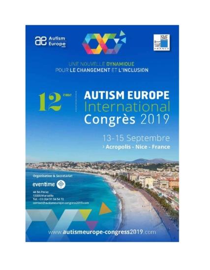 Event_AutismEurope2019_Nice